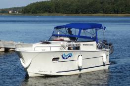 Mrągowo Atrakcja Łodź motorowa Mazur Jacht Czarter